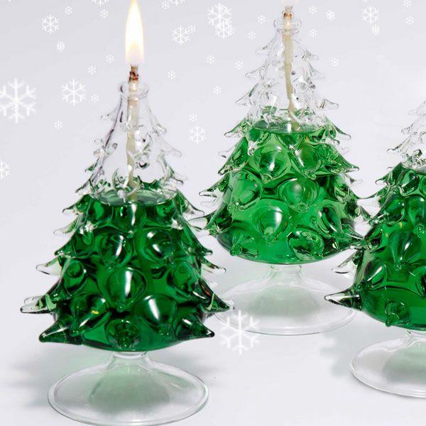 クリスマスツリー オイルランプ ツリー型 オイルランプ OLC-22